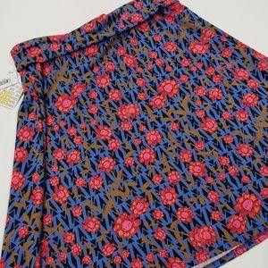 3XL Azure LuLaRoe skirt NWT